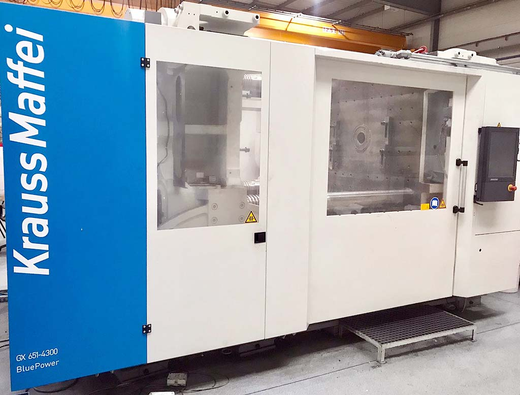 Injection Moulding Machine KRAUSS MAFFEI KM 651-4300 GX Image-3