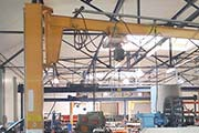Column-Mounted-Slewing-Crane-Fhs used