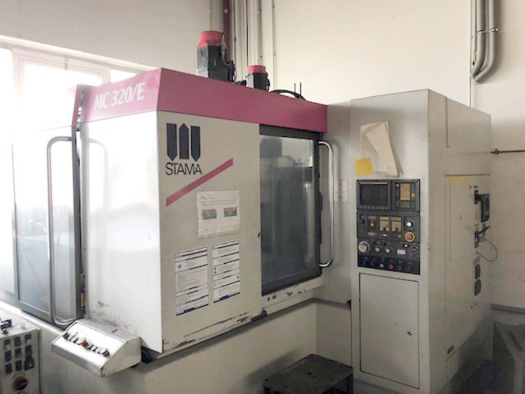 CNC Machining Center STAMA MC 320/E Image-1