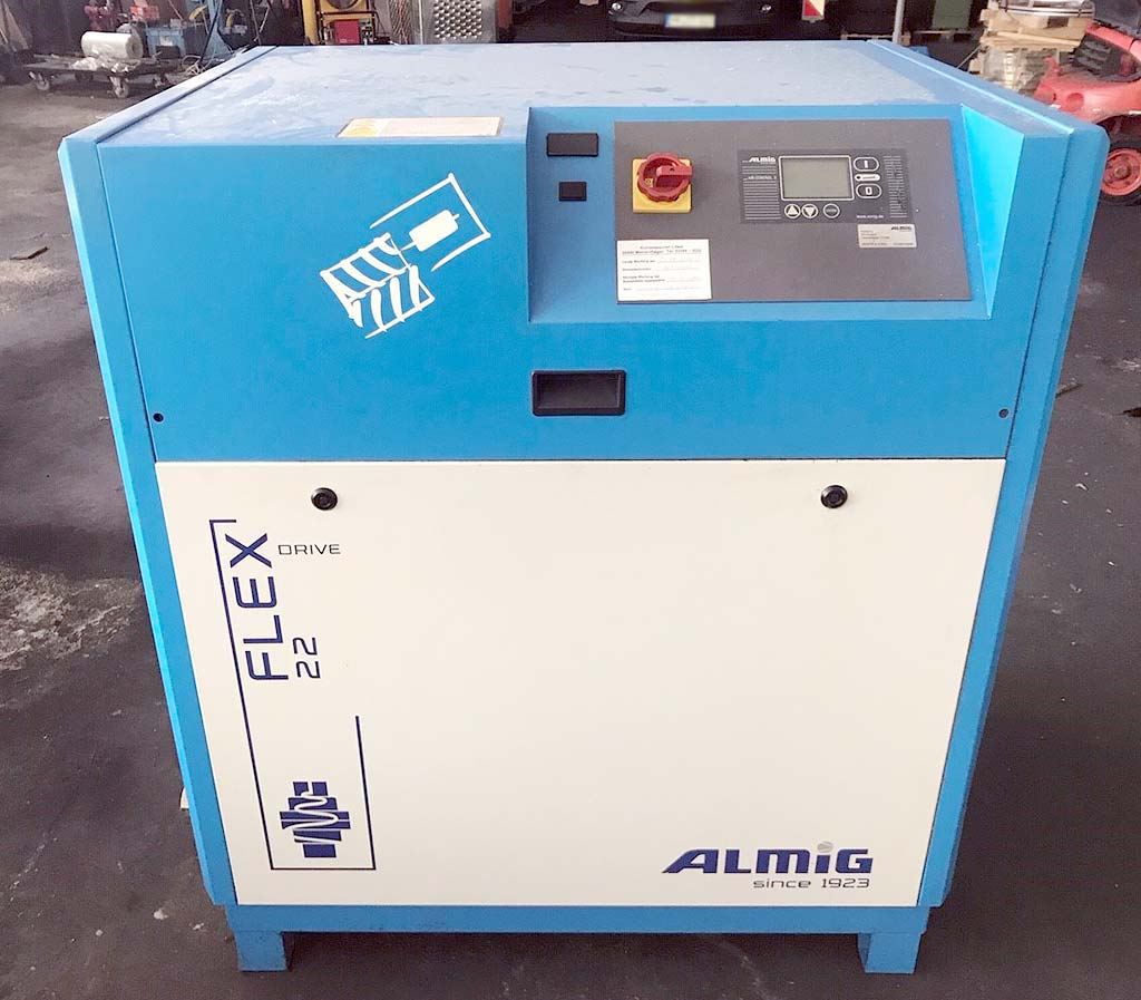 Screw Compressor ALMIG FLEX 22 Image-1