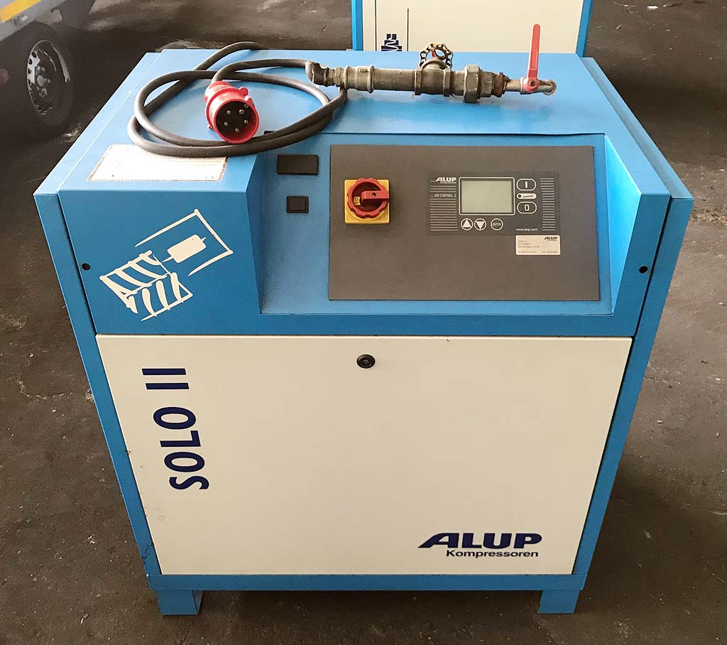 Screw Compressor ALUP SOLO 11 Image-2