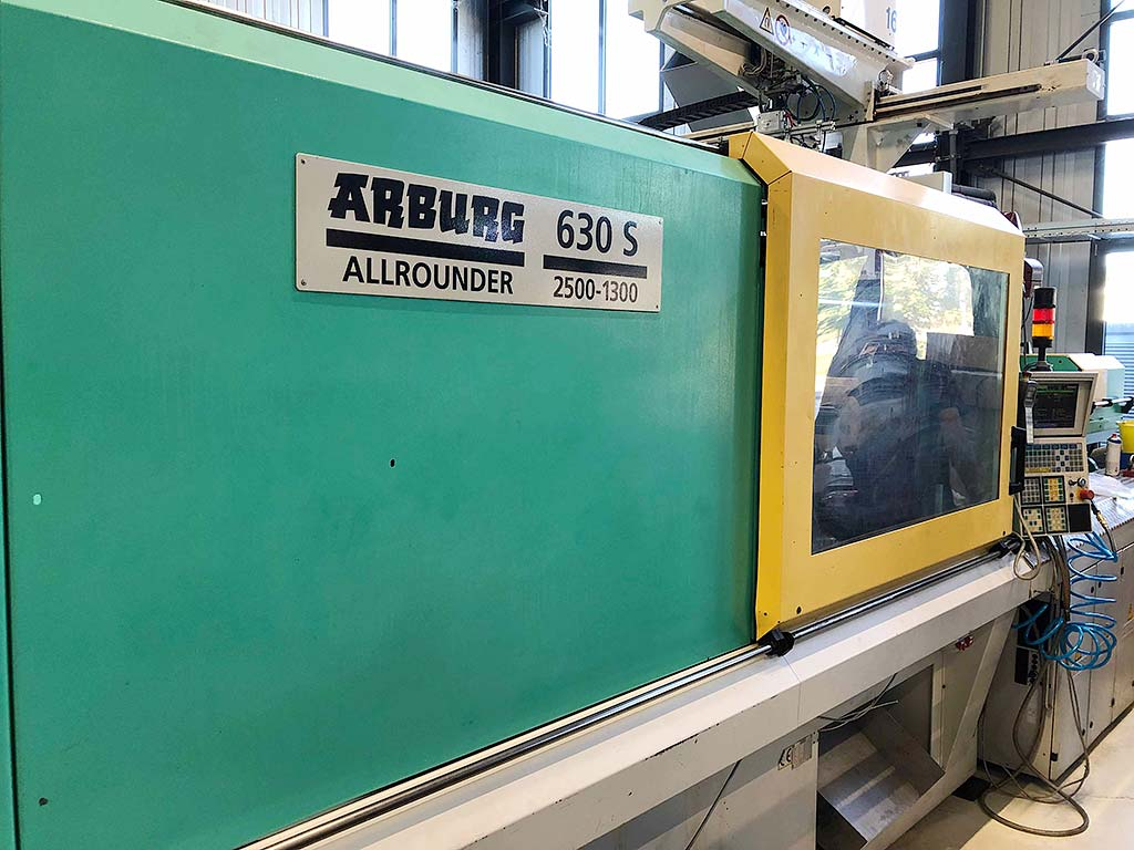 Injection Moulding Machine ARBURG ALLROUNDER 630S 2500-1300 Image-1