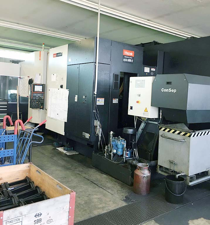 Horizontal Machining Center MAZAK HCN-6000 II Image-1