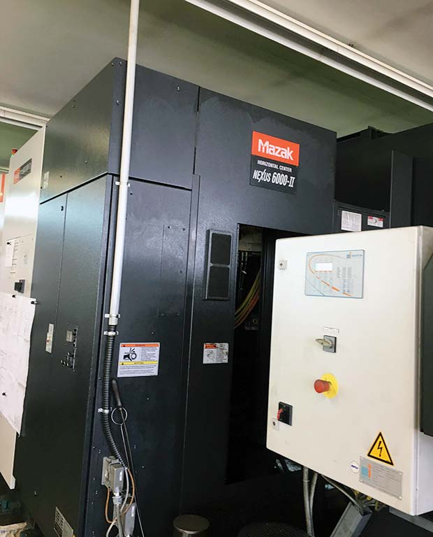 Horizontal Machining Center MAZAK HCN-6000 II Image-2