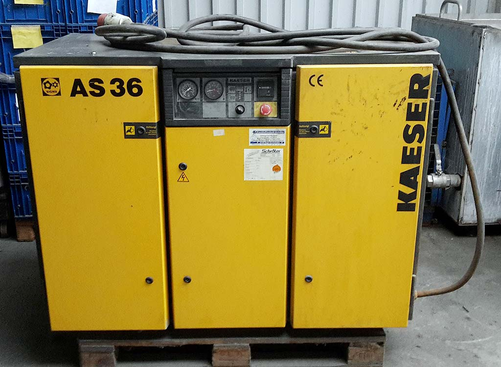 Screw-Compressor-Kaeser-AS36 Image1