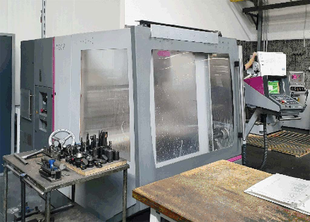Universal-Milling-and-Drilling-Machine-Maho-MH600 Image1