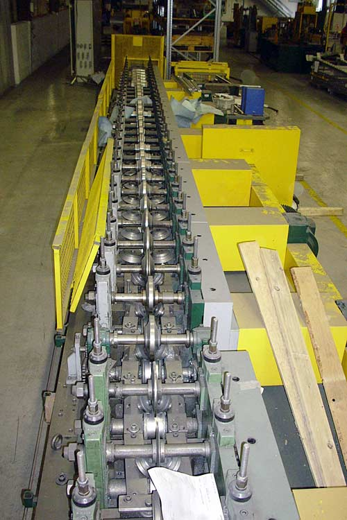 Shelf System Roll Forming Line Contour Roll CO Image-1