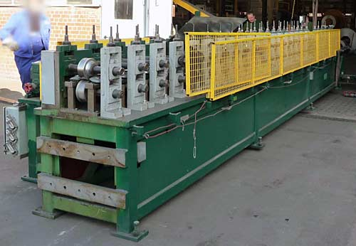 Shelf System Roll Forming Line Contour Roll CO Image-3